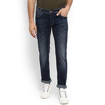Mufti Dark Blue Super Slim Fashion Jeans