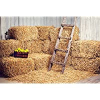 Kate 7x5 ft Yellow Fall Photography Backdrops Haystack for Halloween Background Photo Booth Props