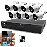 Best Vision 16CH 4-in-1 HD DVR Security Camera System (1TB HDD
