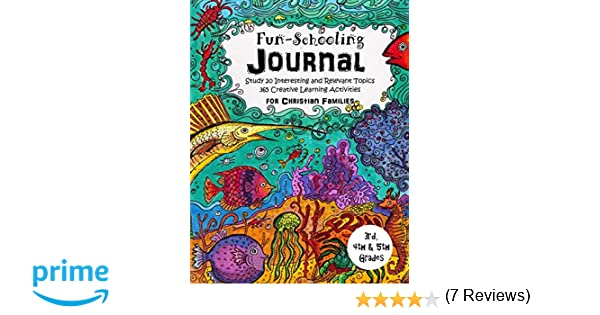 3rd, 4th and 5th Grade - Fun-Schooling Journal - For Christian ...