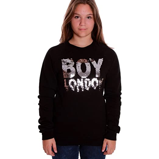 Boy London Felpa Maglia Donna Girl Ragazza Logo Moda