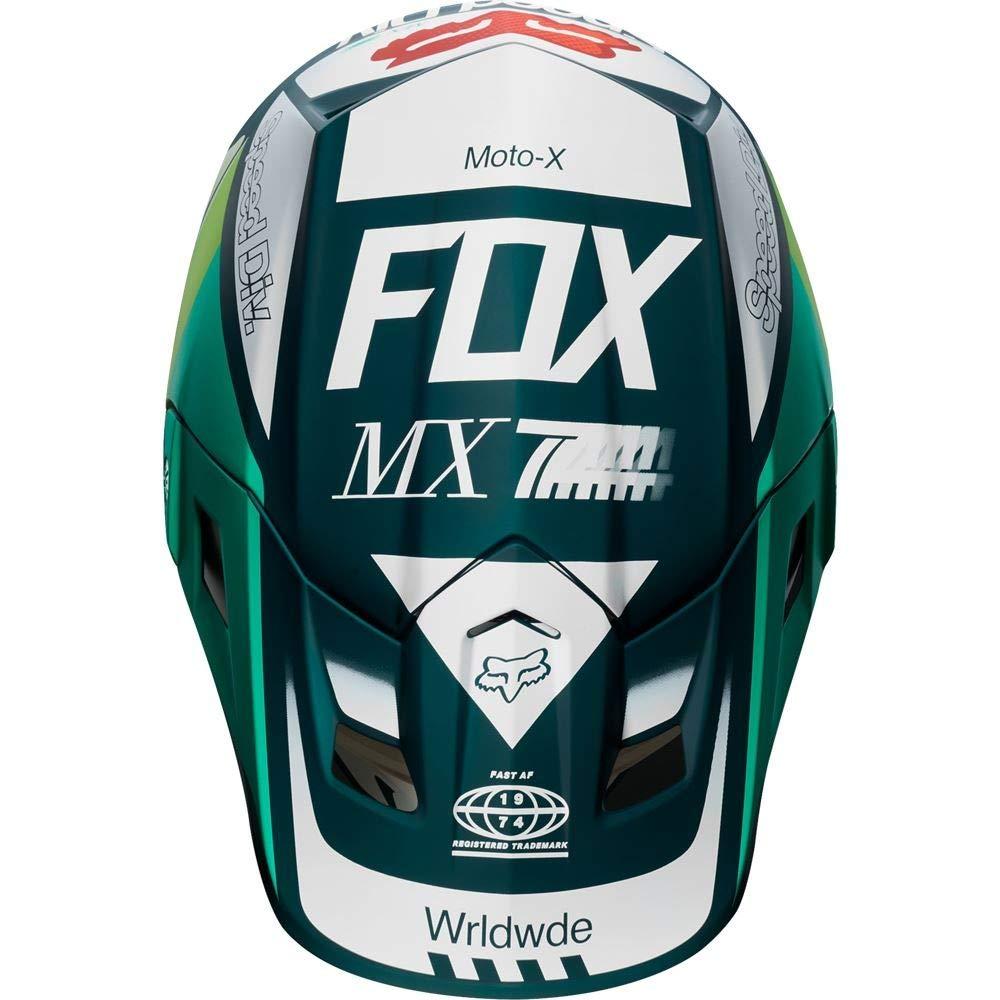 Fox 2019 Murc V2 - Casco de Motocross para Adulto (Talla Mediana, 57 a 58 cm), Color Verde: Amazon.es: Deportes y aire libre