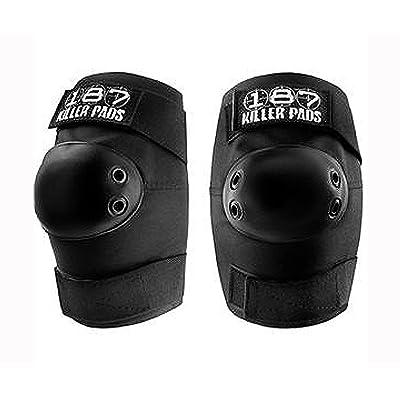 187 Killer Pads Elbow Pads - Black - Medium : Skate And Skateboarding Knee Pads : Sports & Outdoors