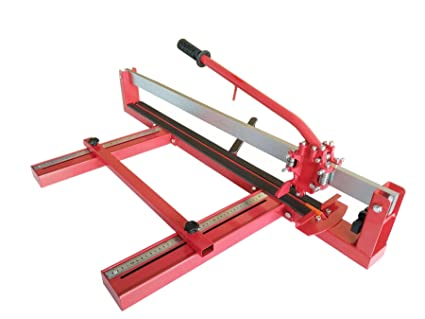 Tile Cutter durable finish with steel base. TopLine PRO 720 with a Gesamtschnittl/änge by 720 mm