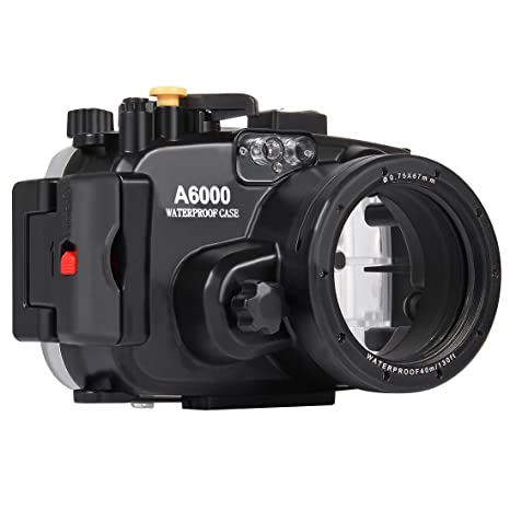 Loboo Idea 130FT/40M Carcasa Impermeable para cámara de Buceo de ...