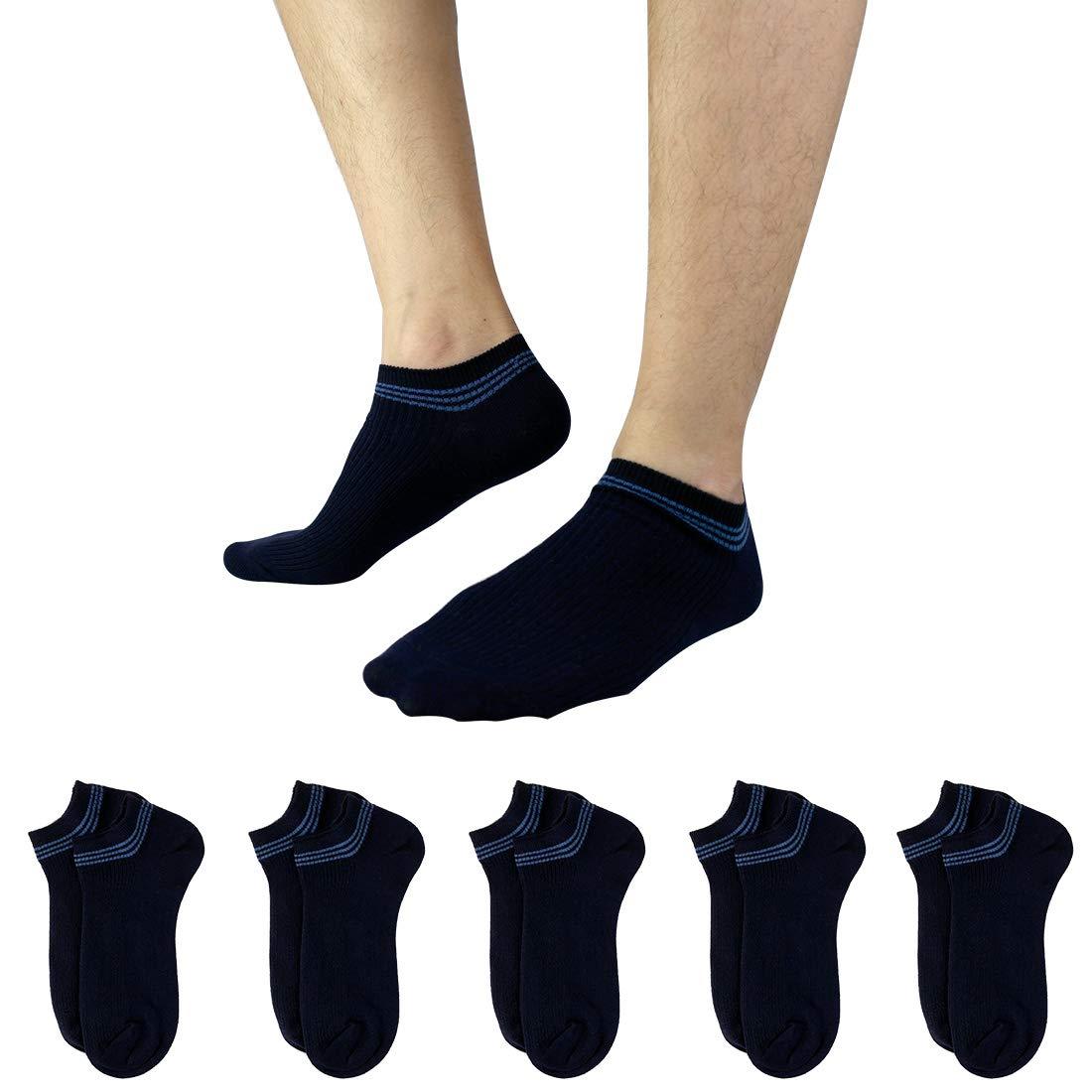 Dockers Mens Dockers 5 Pack Cushion Comfort Sport Crew Socks