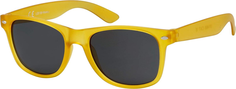 Verspiegelt Einzel-//Doppelpacks Farben La Optica B.L.M UV400 CAT 3 CE Unisex Sonnenbrille