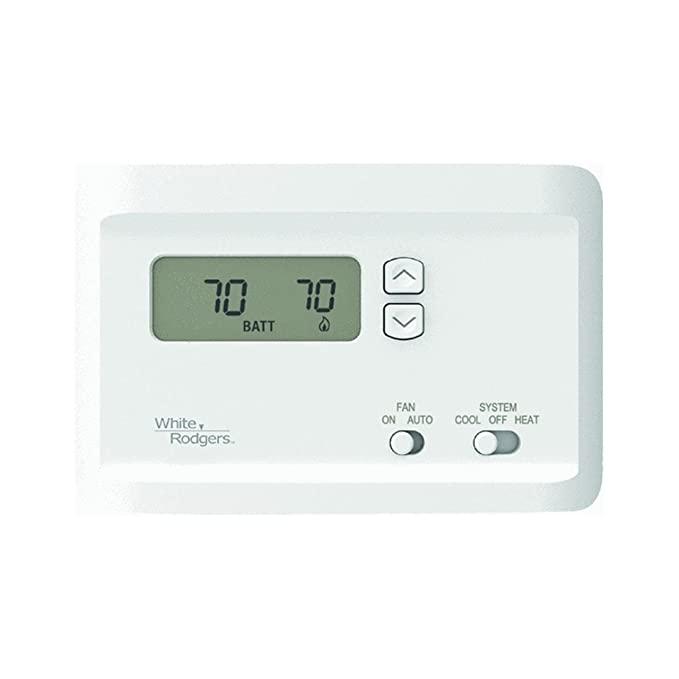 Emerson 700 Electronic Non Programmable Single Stage Thermostat