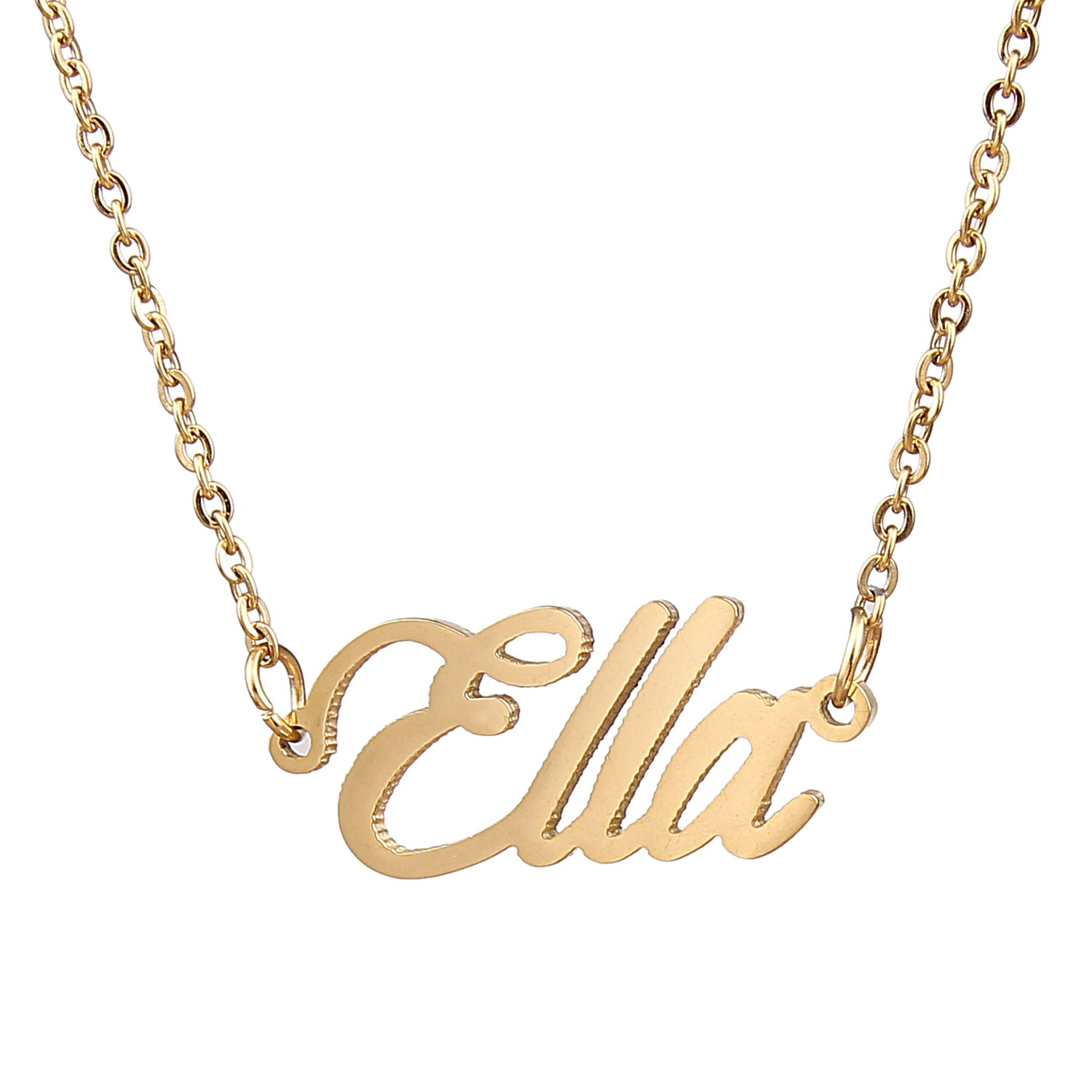 trendy product statements name necklace image img cursive of