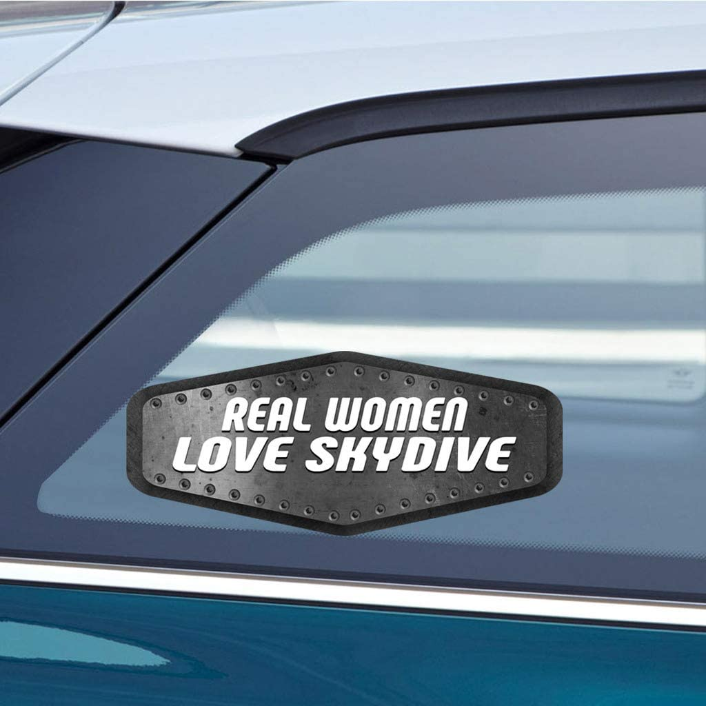 "/'/'SIZES/"" I Love Sky Diving Car Bumper Sticker Decal"