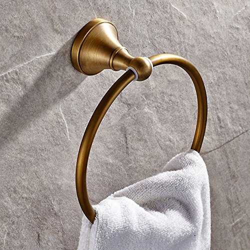 free shipping Leyden Antique Bathroom Accessories Brass Towel Ring Towel Rack Towel Shelf Lavatory Accessories Wall maounted