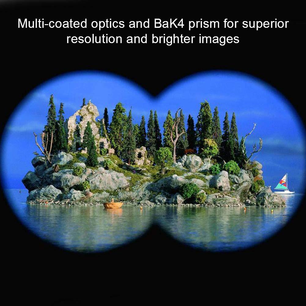 AYNEFY Binoculares de Largo Alcance 60 x60 Binoculares de Largo Alcance BAK4 de Largo Alcance Prism/áticos Profesionales Visi/ón Nocturna HD para Observaci/ón al Aire Libre y Vision Nocturna y Diurna