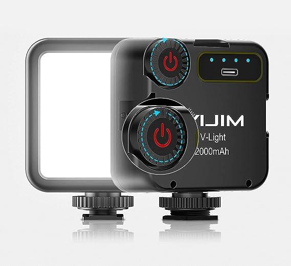 US V BESTLIFE Handheld LED Light 10 Levels Dimmable Bi-Color LED Fill Light Photography Lamp Stick 95+CRI Support 4 Form 5500//3200K