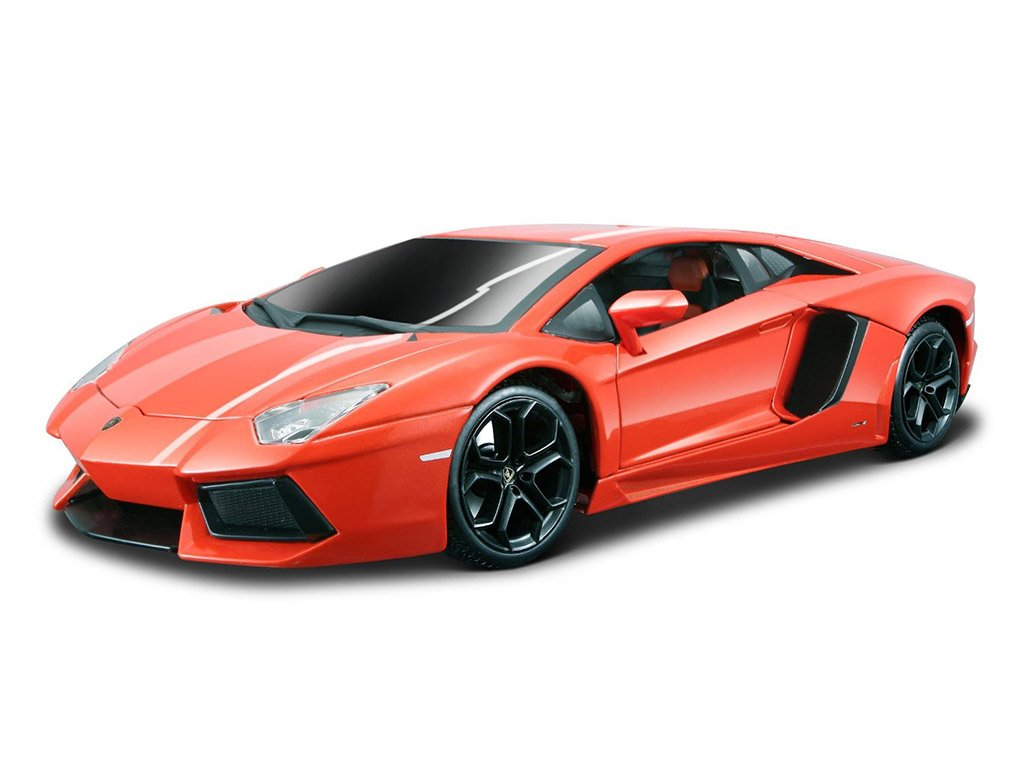 Gold Lamborghini Aventador Embly on