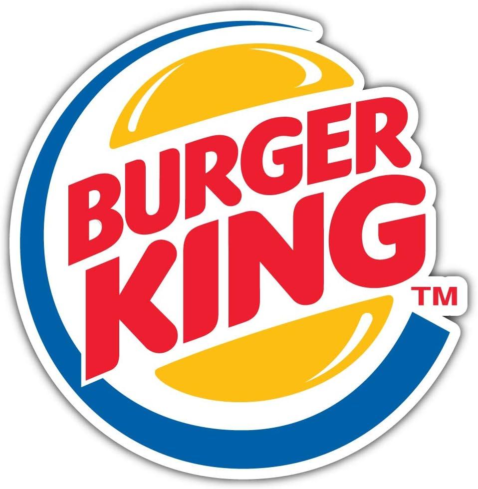 12/'/' or 14/'/' 9/'/' Burger King Original Logo Sticker Car Bumper Decal