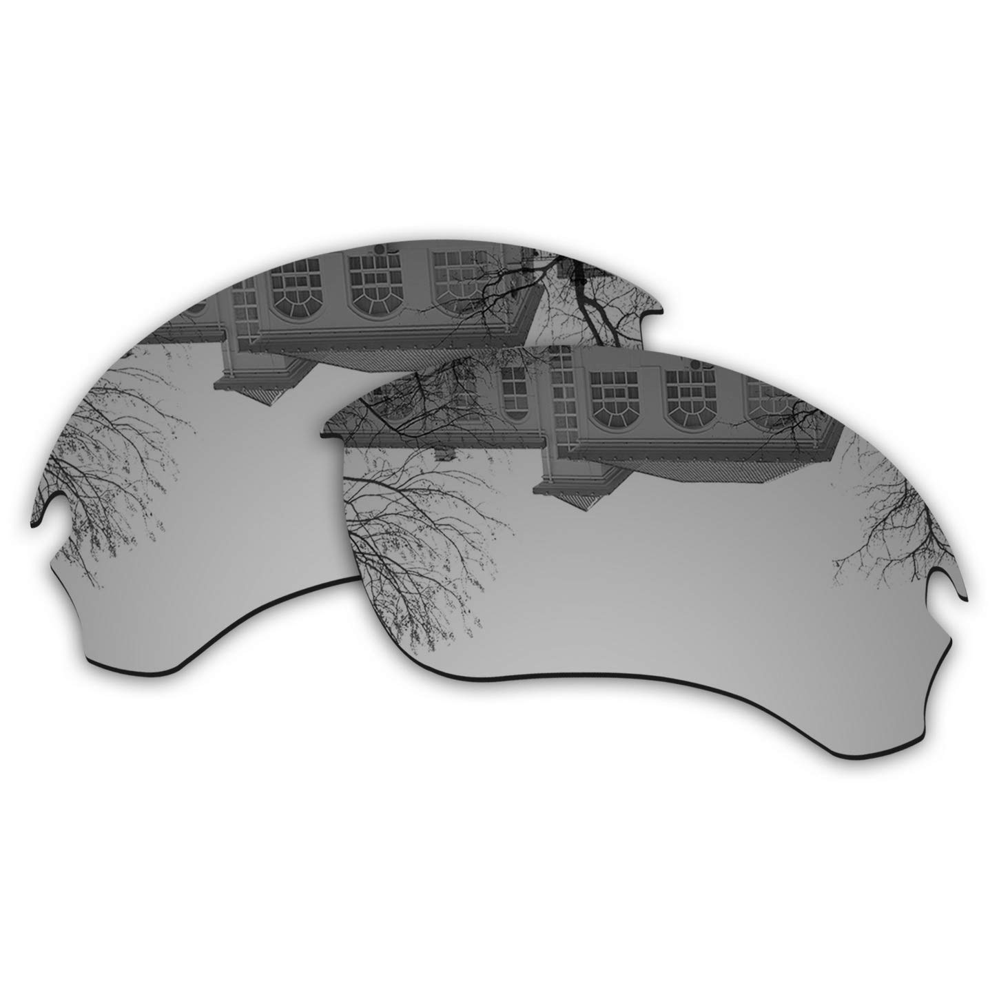 Millersawp Flak Draft OO9364 Replacement Lenses Compatiable with Oakley Sunglass-Silver Iridium by Millersawp