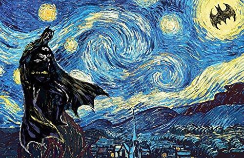 Batman Starry Night Art Print ()
