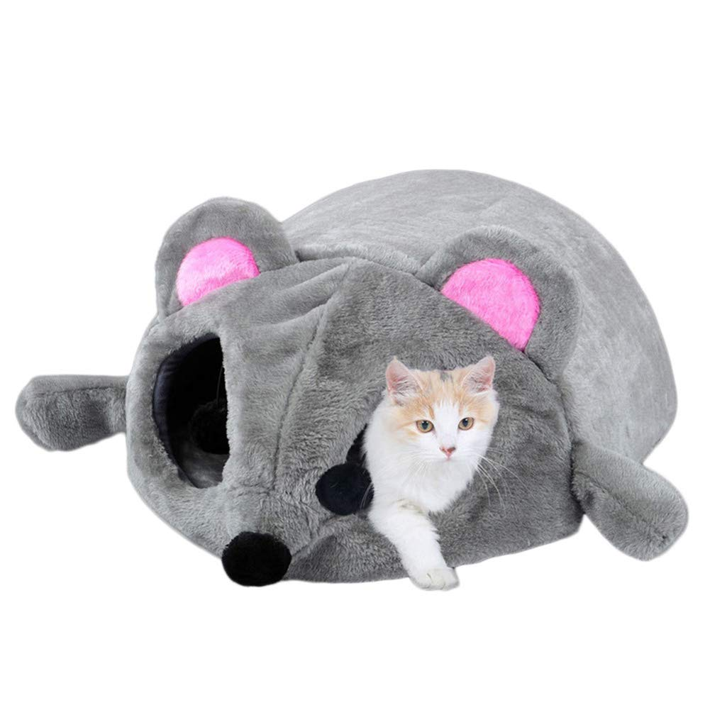 Cat Bed pet Room, Autumn and Winter Keep Warm Cat House (50  40  21cm)