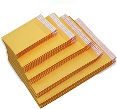 LOTS 10Pcs Poly Bubble Mailers Padded Envelopes Shipping Bags Self Seal 11*15CM