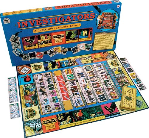 Family Pastimes Investigators - A Co-operative Detective Game Family Pastimes Ltd.