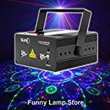 SUNY Z12R-RGB300 Decorative 12 Gobos Projector RGB Stage Laser Light Red Green Blue Stage Lighting DJ Disco Show Party Laser [並行輸入品]