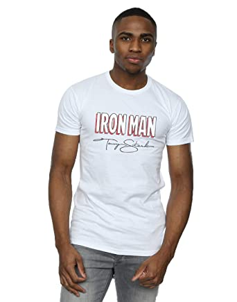 Marvel Homme Iron Man AKA Tony Stark T Shirt