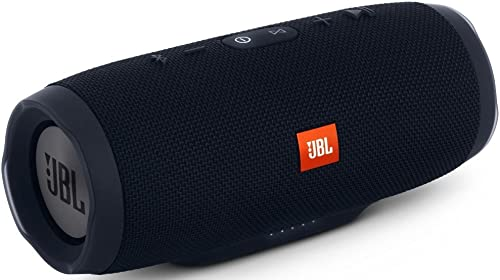 JBL Charge 3 Waterproof Portable Bluetooth Speaker Black
