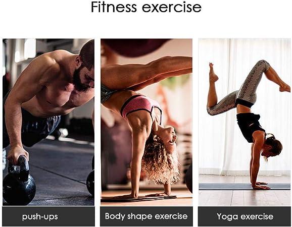 Dubleir 1 Paire De Barres Parall/èles Bois,parallettes en Bois,Barre Parall/èle Musculation Bois Couleur Pin Style Russe pour Le Fitness Elegant