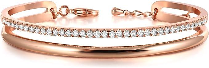 Cuff braceletsWoman/'s gold bracelet,Bangle,T braceletknot braceletssilvermeshlarge bracelet