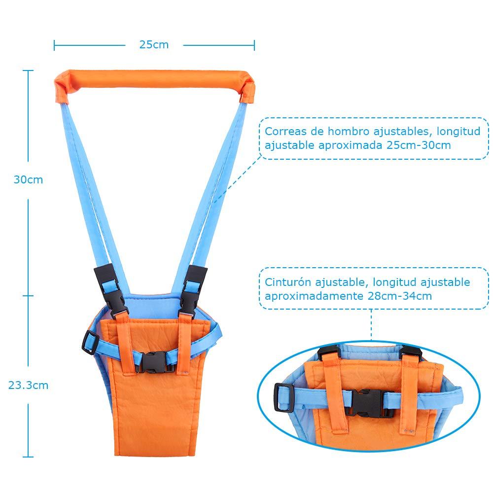 Faburo Arnés de Seguridad para Caminar y 10 Piezas Protecciones de ...