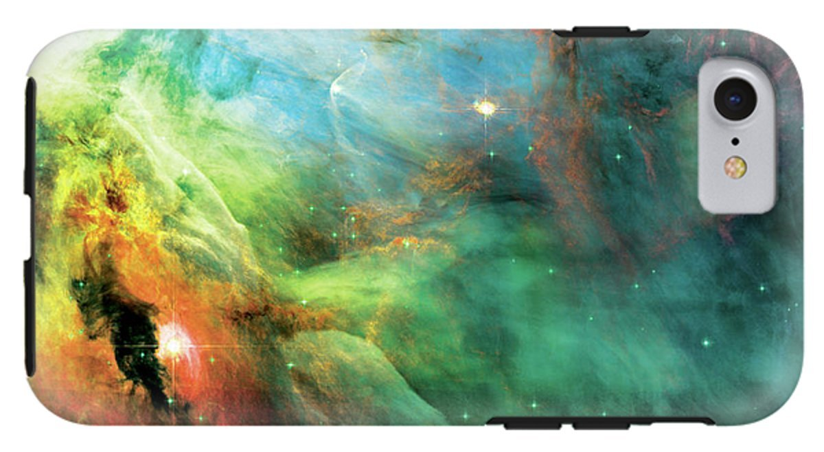 iPhone 8 Case ''Rainbow Orion Nebula'' by Pixels by Pixels