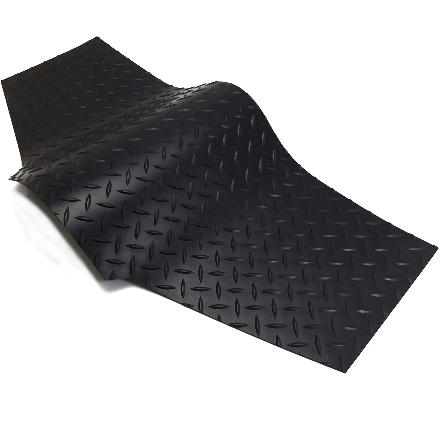 Automotive Accessories Interior upgrade4cars Universal Car Mats Black Set of Non Slip Auto Floor Carpet Mat