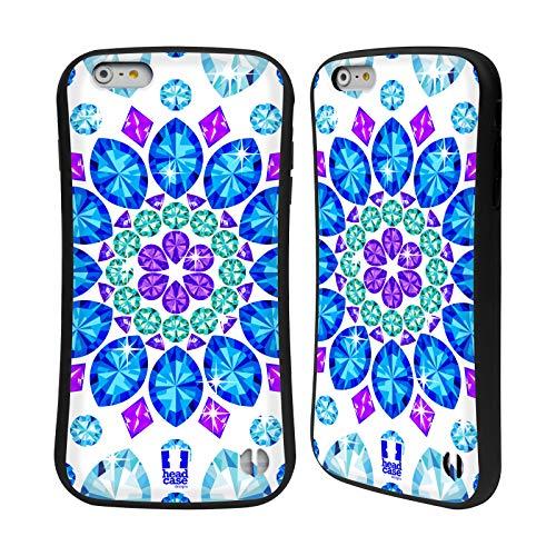 Head Case Designs Mandala Crystals Sparkling Gemstones Hybrid Case for iPhone 6 Plus/iPhone 6s Plus