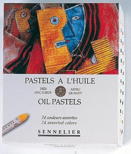 Amazon Sennelier Oil Pastel Assorted Set Of 24