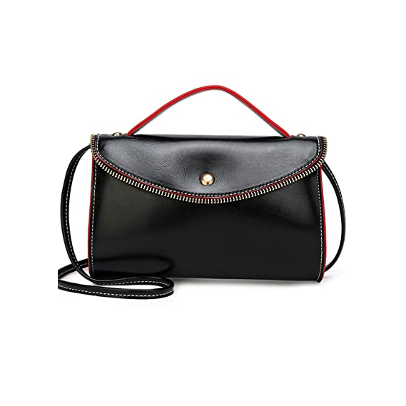 de7bba4e6f50 Women Small Crossbody Purse, Techcircle Fashion Synthetic Leather Handbag  Shoulder Bag Cellphone Tote Bag with Top Handle and Shoulder Strap for ...