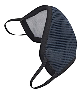 Wildcraft W- 95 Mask Pack of 3 Black Adults HypaShield Reusable 6