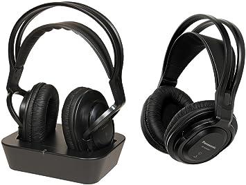 Panasonic RP-WF830WE-K - Auriculares de diadema cerrados inalámbricos, negro: Amazon.es: Electrónica