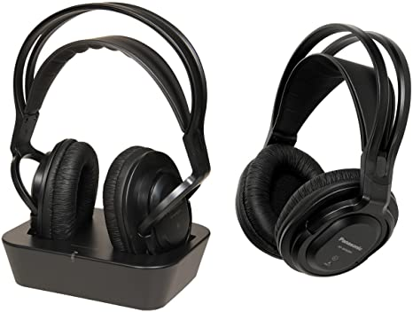 Panasonic RP-WF830WE-K - Auriculares de diadema cerrados inalámbricos, negro