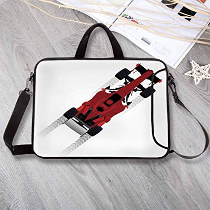 a5280b982a4c Amazon.com: Cars Lightweight Neoprene Laptop Bag,Formula Car on ...