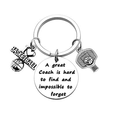 Amazon.com: ENSIANTH - Llavero de entrenador de baloncesto ...