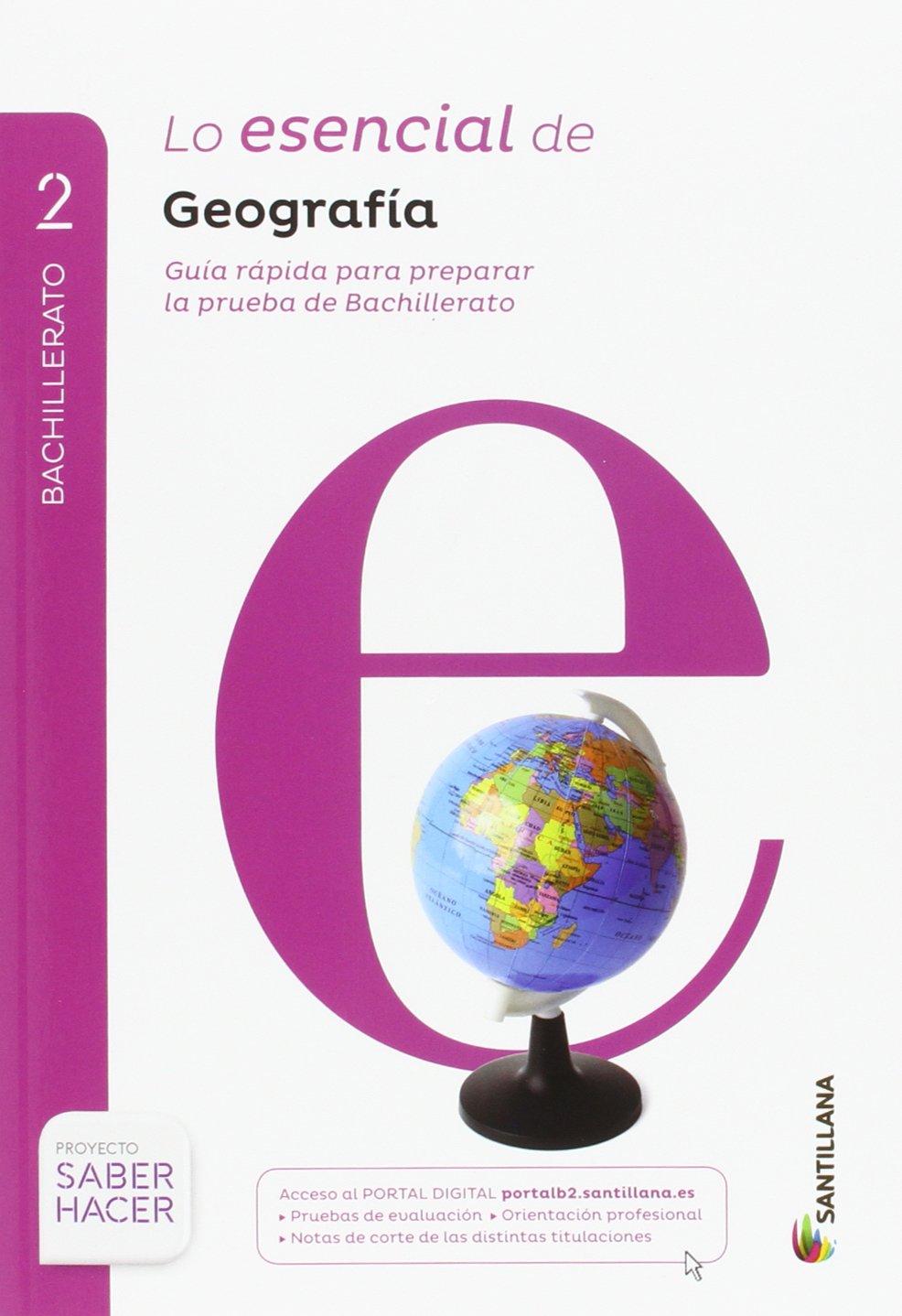 Geografía Serie Descubre. 2 Bachillerato. Saber Hacer + Cuaderno Evaluación - 9788414101889: Amazon.es: Vv.Aa.: Libros