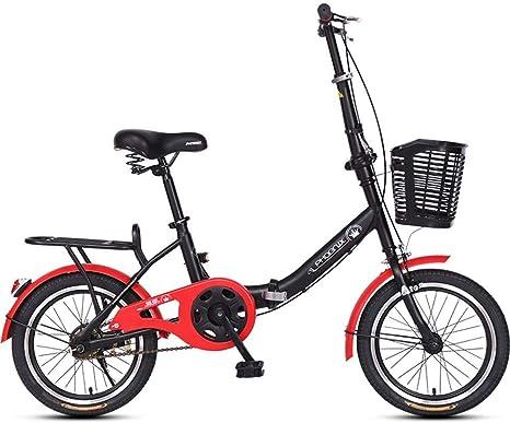 LFEWOZ Bicicleta Bicicleta Portátil Adultos BMX Bicicletas De ...
