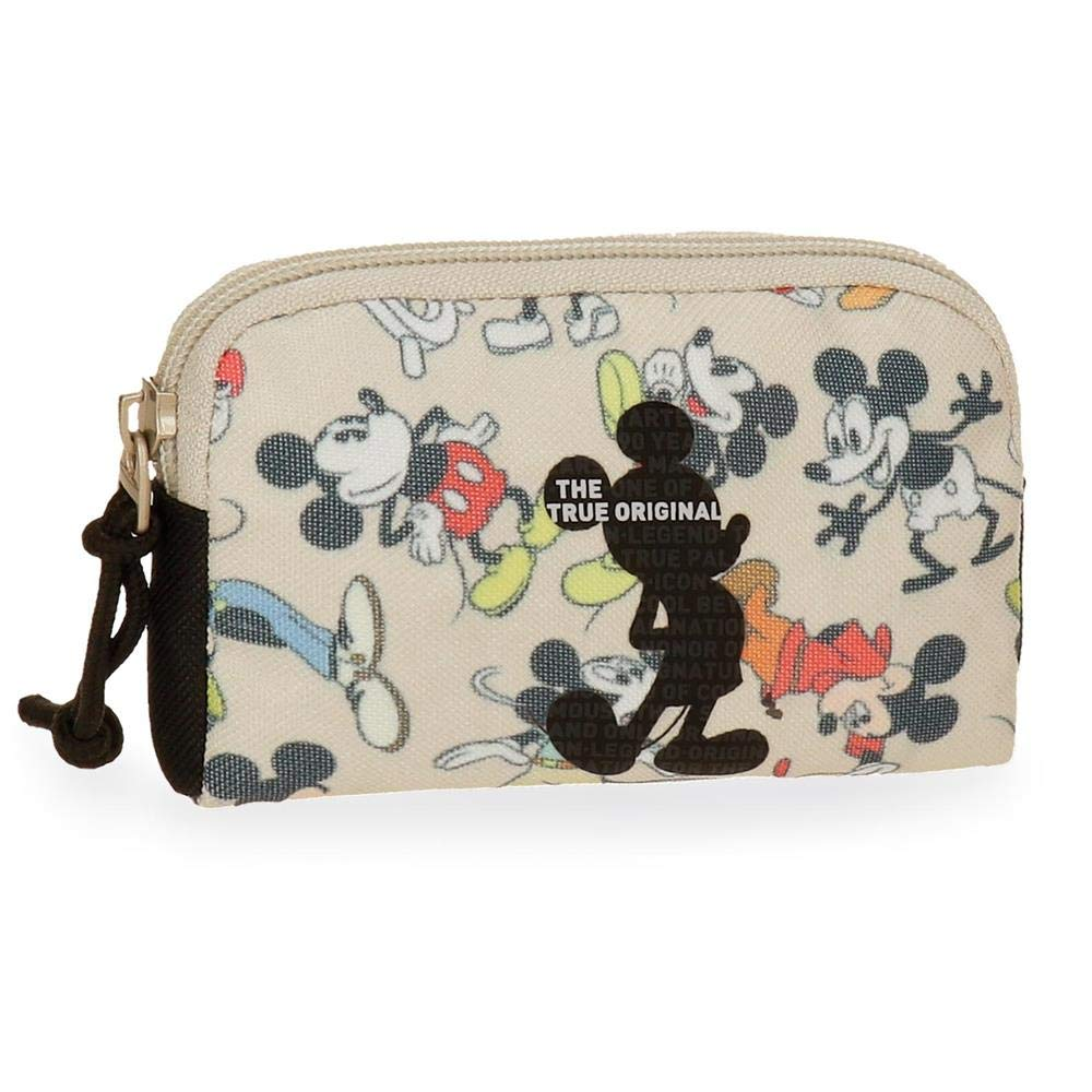 Disney True Original Coin Pouch, 12 cm, 0.19 liters, Multicolour (Multicolor) 3328061
