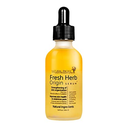 Natural Pacific Fresh Herb Origin Serum, 1.7 Ounce by Natural Pacific