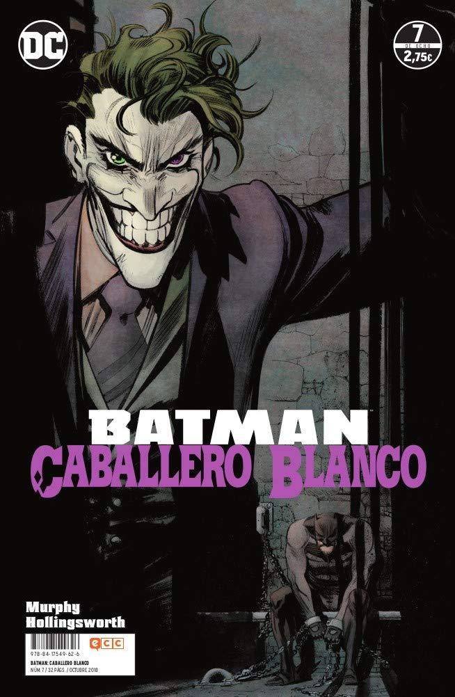 Batman: Caballero Blanco núm. 07 (de 8) Tapa blanda – 14 sep 2018 Sean Murphy ECC Ediciones 8417549625