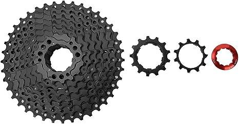 Xinwoer 9 Velocidad Acero antioxidante Cassette de Bicicleta ...