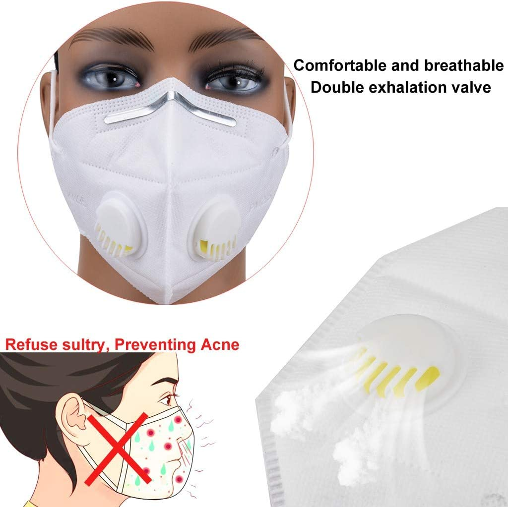High Filtering Rate Face Cover for Women Men 95/% Filter ᴹᵃˢᵏ Hygiene and Protection Anti-Dust Waterproof Cover 1 1//5//10 Pcs Face Cover