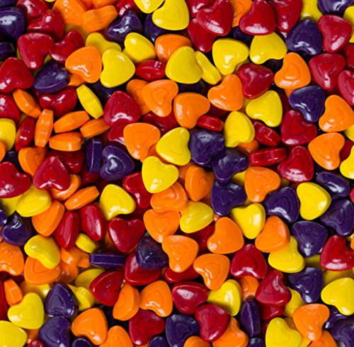 CRAZY Candy Hearts 30lbs / 19,920 Count Bulk (Crane Gold Race)