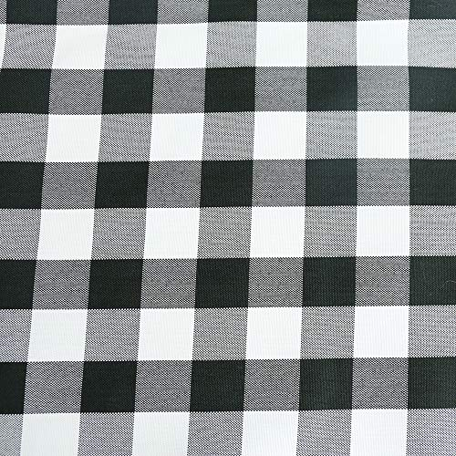 TRLYC Check Indoor/Outdoor Polyester Tablecloth - Gingham Ch