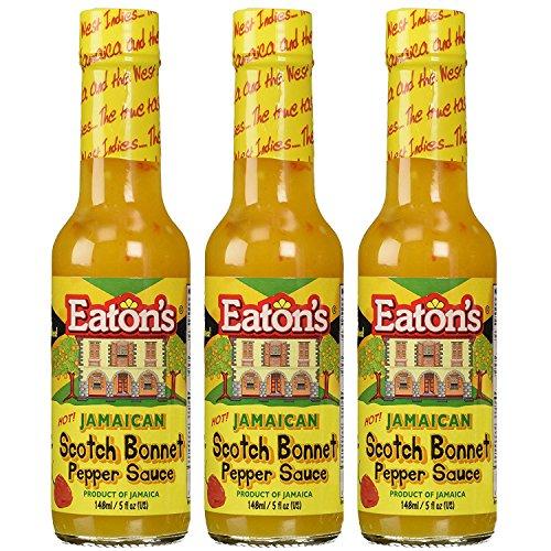 Jamaican Hot Sauce Recipes - Eaton's Jamaican Scotch Bonnet Pepper Sauce (3 Pack)